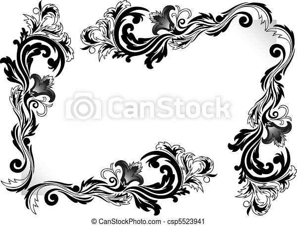 Decorative corners - csp5523941