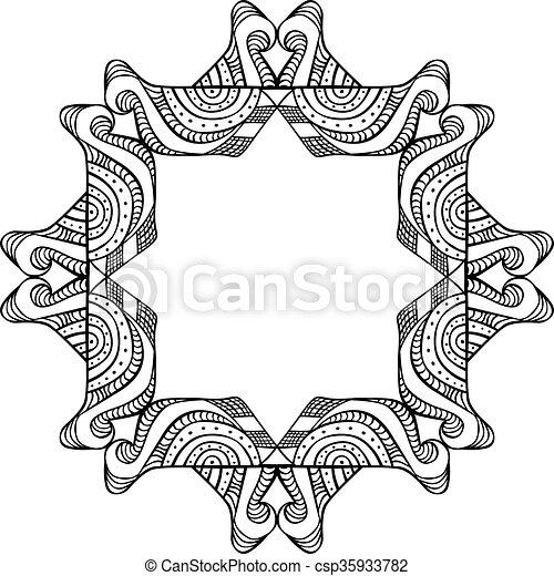 Decorative design element - csp35933782