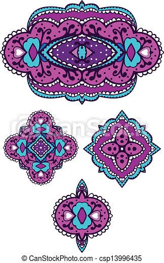 decorative design element - csp13996435