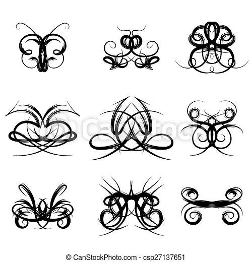 Decorative Design Elements - csp27137651
