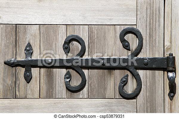 Decorative Door Hinge   Csp53879331
