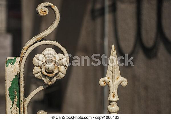 Decorative elements closeup - csp91080482