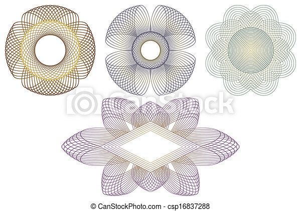Decorative elements. - csp16837288