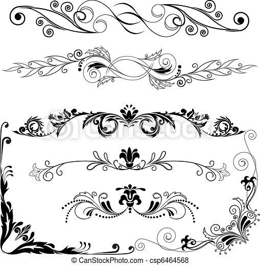 decorative elements - csp6464568