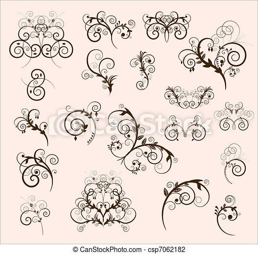 decorative elements - csp7062182