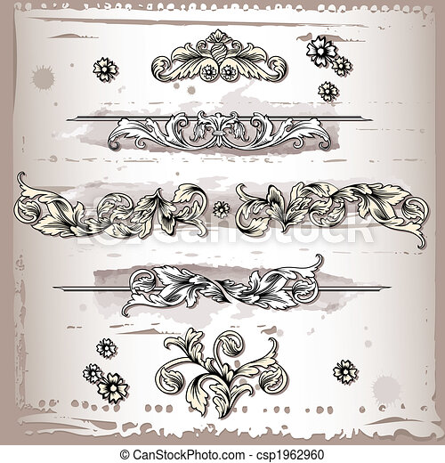 Decorative Elements - csp1962960