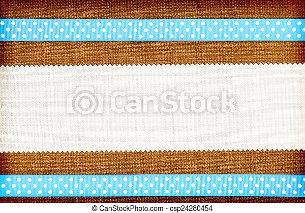 Decorative fabric background. Scrapbook, photobook concept - csp24280454