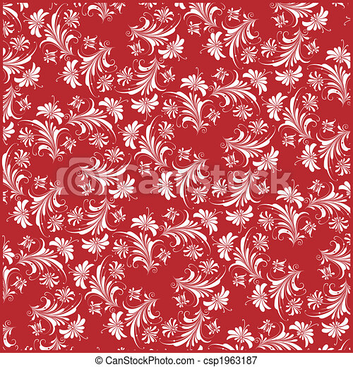 Decorative Floral Background - csp1963187