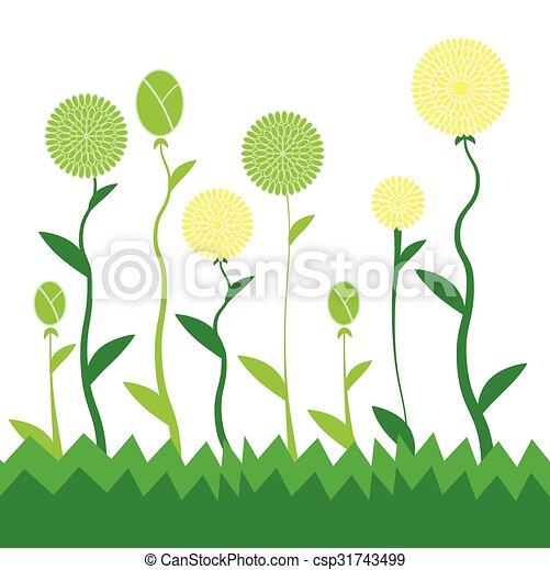 flowers decorative royalty image free vectorstock decor vector