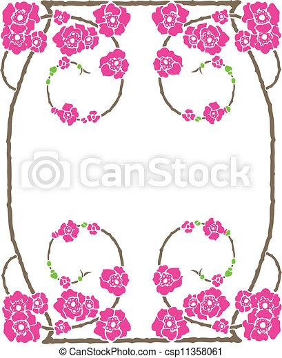 Decorative Frame - csp11358061