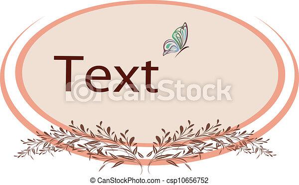 Decorative frame - csp10656752