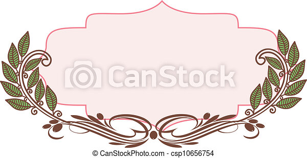 Decorative frame - csp10656754