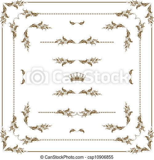decorative frame - csp10906855