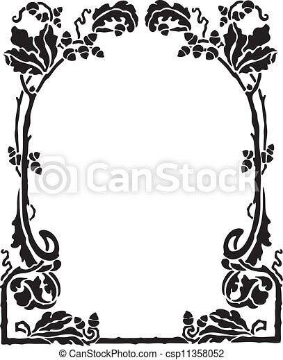 Decorative Frame - csp11358052