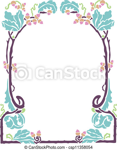 Decorative Frame - csp11358054