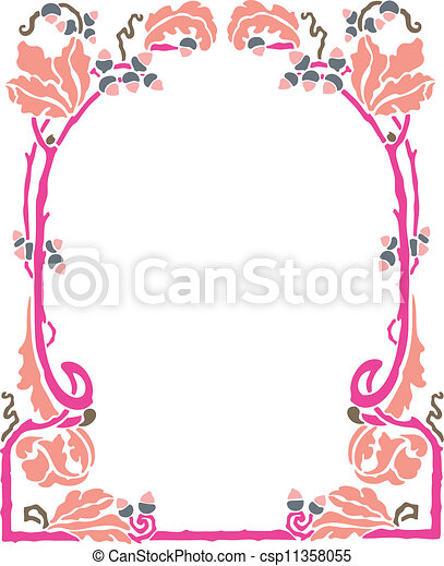 Decorative Frame - csp11358055