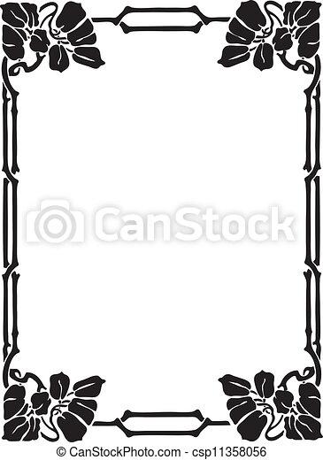 Decorative Frame - csp11358056