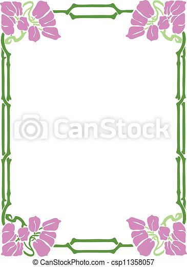 Decorative Frame - csp11358057