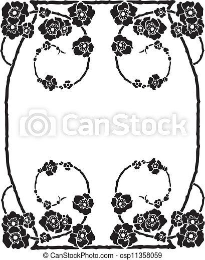 Decorative Frame - csp11358059