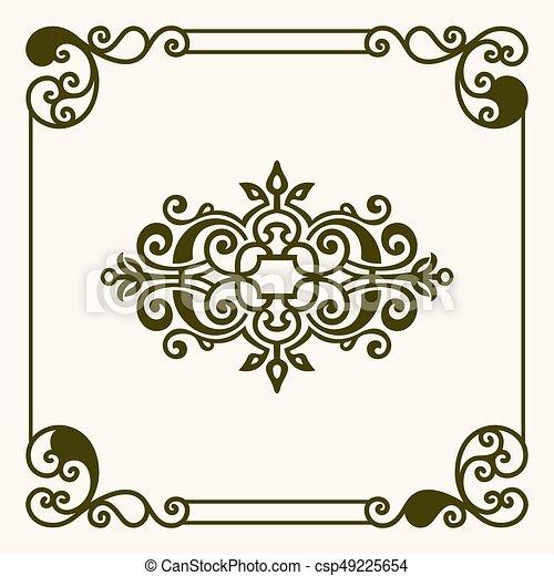 Decorative frame - csp49225654
