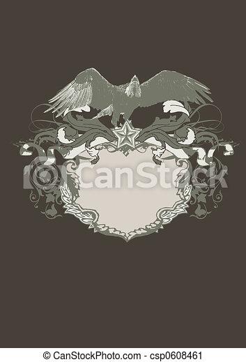 Decorative frame  - csp0608461