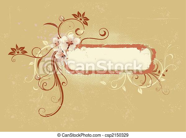 Decorative frame - csp2150329
