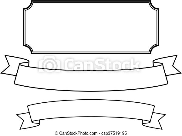 decorative frame - csp37519195