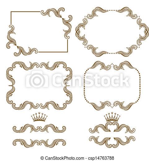 decorative frame - csp14763788