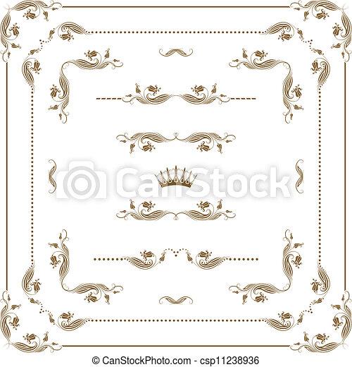 decorative frame - csp11238936