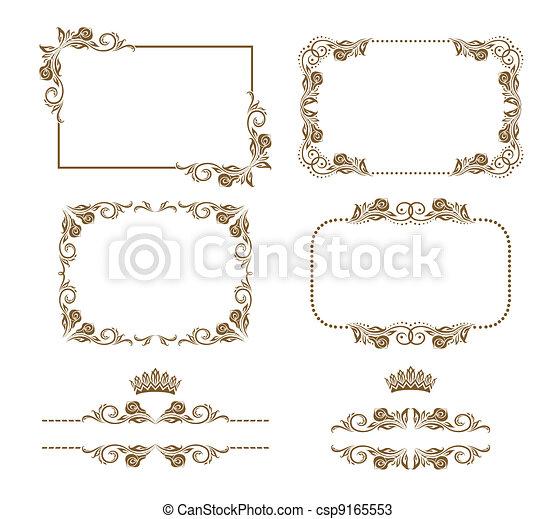 decorative frame - csp9165553
