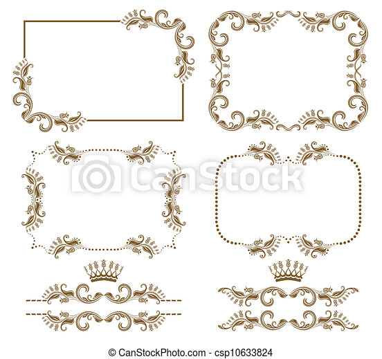 decorative frame - csp10633824