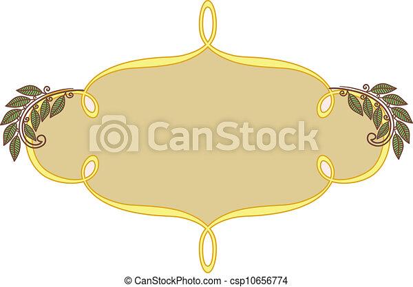 Decorative frame - csp10656774