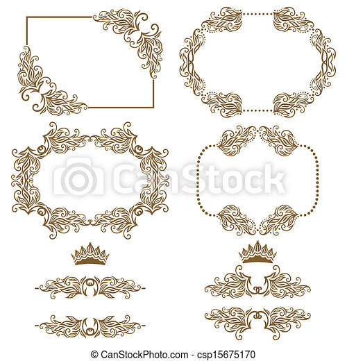 decorative frame - csp15675170