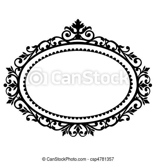 Decorative frame - csp4781357