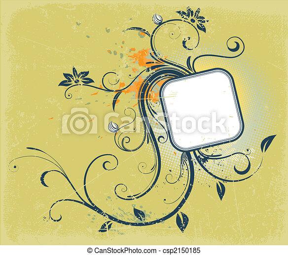 Decorative frame - csp2150185