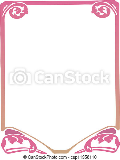 Decorative Frame - csp11358110