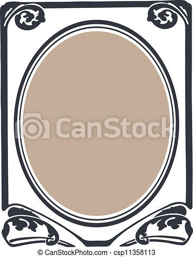 Decorative Frame - csp11358113