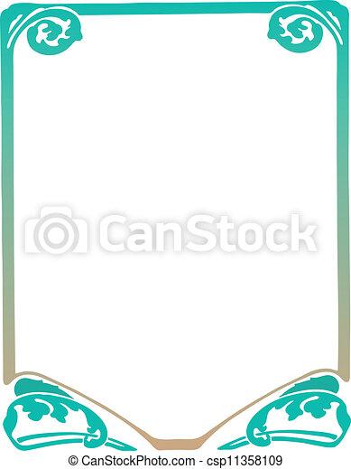 Decorative Frame - csp11358109