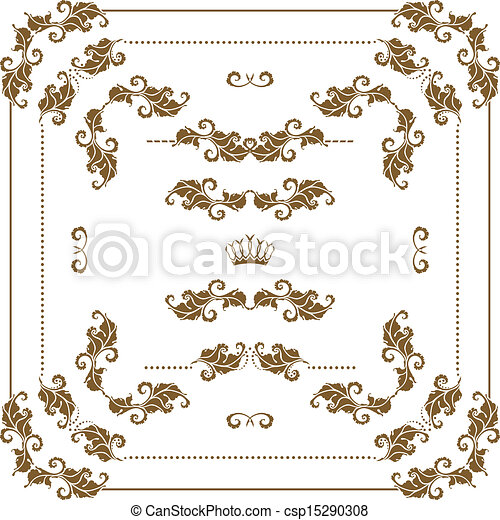 decorative frame - csp15290308