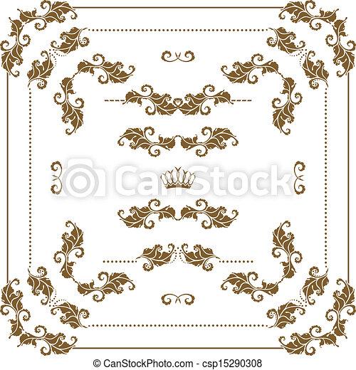decorative frame - csp15290308