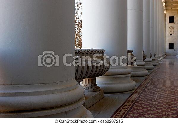 Decorative Hall - csp0207215