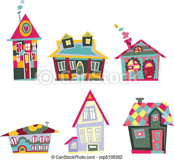 Decorative houses - csp5108362