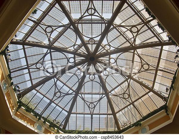 Decorative Octagonal Skylight - csp8453643