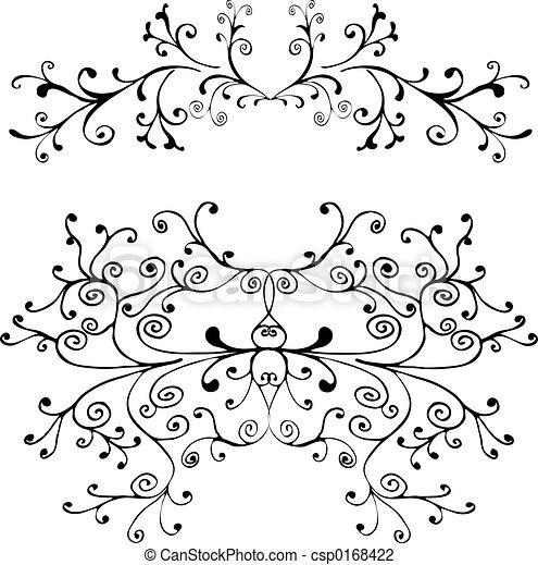 Decorative ornament - csp0168422