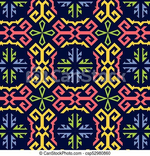 decorative pattern - csp52980860