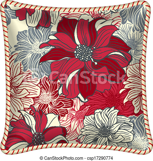 Decorative pillow - csp17290774