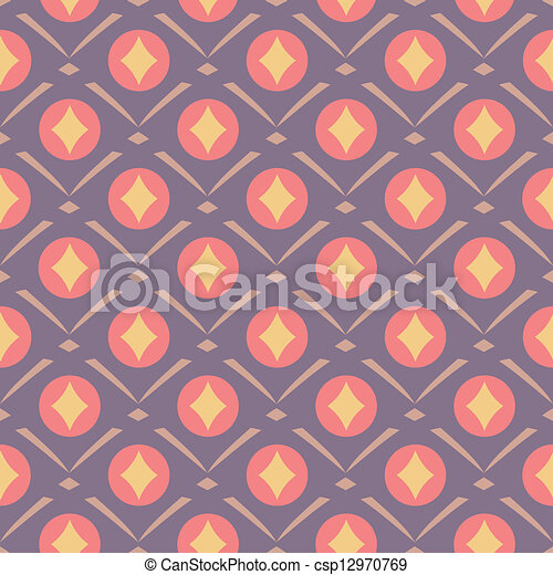 decorative seamless pattern - csp12970769
