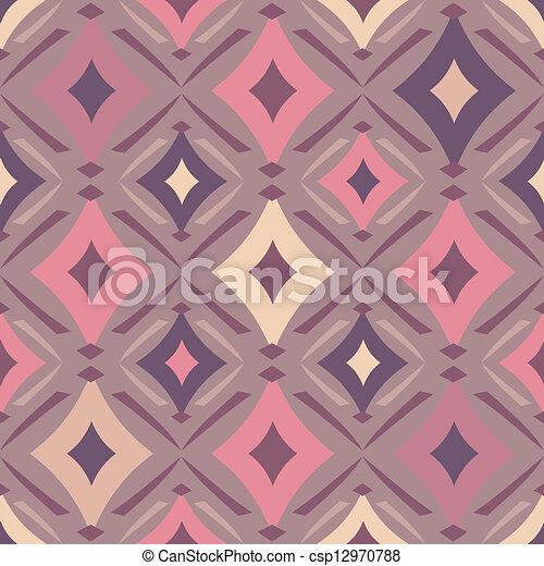 decorative seamless pattern - csp12970788