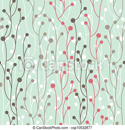 decorative seamless pattern - csp10532877