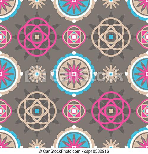 decorative seamless pattern - csp10532916